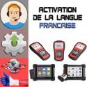 Assistance activation changement langue MaxiDas - MaxiSys