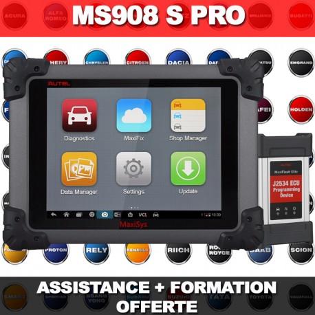 Autel MaxiSys MS908S PRO - 2 années de Mises à Jour